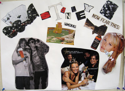Student Work - Streetcar Named Desire collage